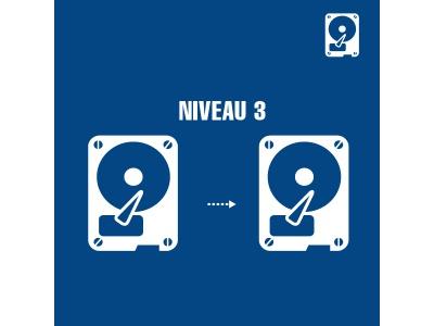 Récupération de données Niveau 3