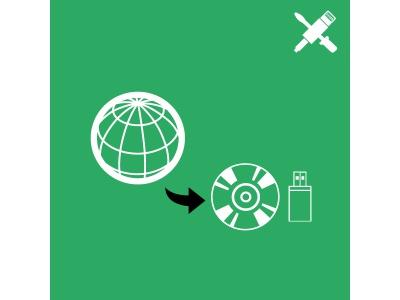 Téléchargement de pilotes sur CD ou support USB externe