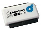 Adaptateur USB 2.0 IDE/SATA avec bouton OTB backup