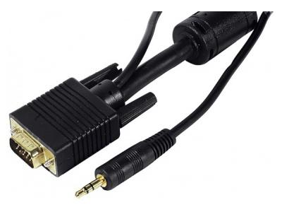 Cordon écran SVGA + Audio - 15 m