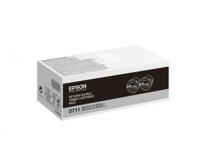 Cartouche d'impression noire 0711 (toner Epson C13S050711)