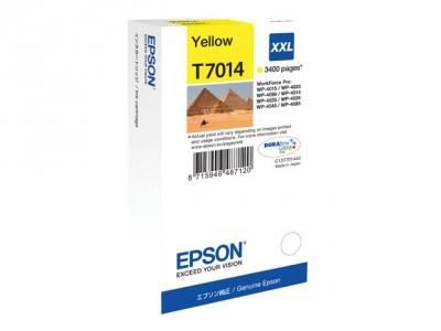 Cartouche d'impression jet d'encre jaune T7014 XXL (Epson C13T70144010)