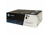 Pack de 2 cartouches d'impression noire 85A (toner HP CE285AD)