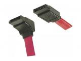 Cordon SATA avec 1 connecteur coudé - 1M