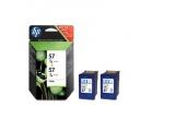 Pack de 2 cartouches 3 couleurs 57 (HP C9503AE)