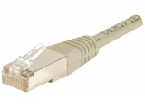 Cordon RJ45 patch FTP CAT5e alu / cuivre - 10,00 m