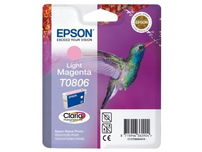 Cartouche d'impression jet d'encre magenta clair T0806 (Epson C13T08064011)
