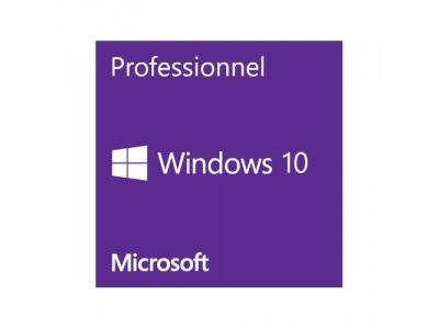 Windows 10 Professionnel - 64 bits - OEM