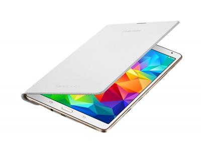 "Simple Cover Blanc neige - Galaxy Tab S 8.4"""
