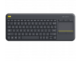 Wireless Touch Keyboard K400 Plus - Noir