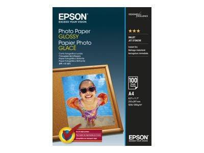 Papier photo brillant A4 (210 x 297 mm) - 100 feuilles