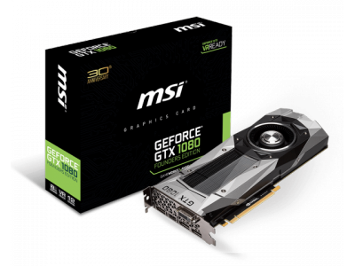 Geforce GTX1080 - 8Go - MSI Founders Edition