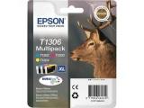 Pack 3 couleurs jet d'encre  Epson T1306