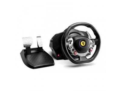 TX Racing Wheel Ferrari 458 Italia Edition + Manette XBOX 360 Filaire Offerte !