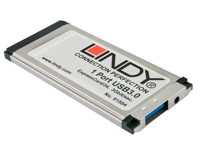 ExpressCard USB 3.0, 1 port