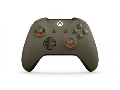Manette Xbox One - Sans Fil - Vert & Orange