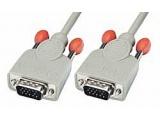 Câble VGA 15 pins HD mâle/mâle 1m