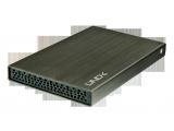 "Boîtier aluminium pour disque dur 2,5"" USB 2.0 SATA"