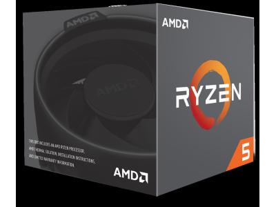 AMD Ryzen 5 1600 Wraith Spire Edition (3.2 GHz) - Socket AM4