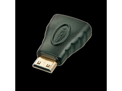 Adaptateur HDMI vers Mini HDMI (A femelle / C mâle)