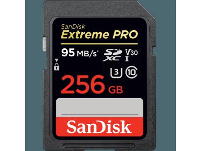 Extreme Pro SDXC 256 Go