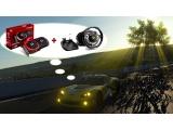 RX 570 4G GAMING X + THRUSTMASTER TX Racing Wheel Ferrari 458 Italia Edition