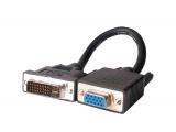 Adaptateur DVI-A/VGA HD 15 F (cable 15 cm)