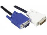 Cordon DVI-A / VGA HD15M - 3.00m