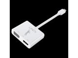 Adaptateur Dual Display USB 3.1 Type C vers HDMI & VGA