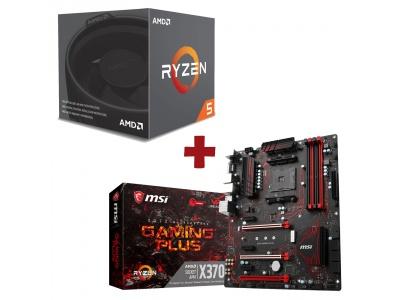 Kit Evolution AMD Ryzen 5 1500X + MSI X370 GAMING PLUS