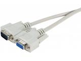 Rallonge VGA standard HD15M/F - 1.80m
