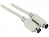 Rallonge clavier et souris PS/2 MDin6 M/F - 10,00m