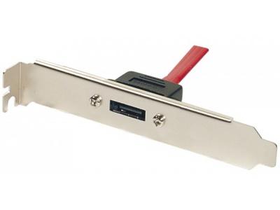 Cable slot 1 ports eSATA avec cordon interne de 30cm