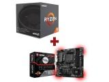 Kit Evolution AMD Ryzen 5 1500X + MSI B350M MORTAR
