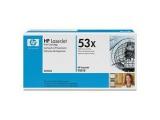 Cartouche d'impression noire LaserJet 53X (toner HP Q7553X)