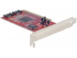 Carte PCI controleur SATA Low Profile - 2 ports internes