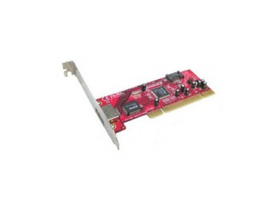 Carte PCI controleur SATA - 1 SATA int + 1 eSATA