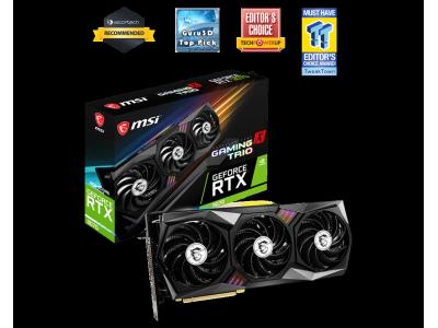 Geforce RTX3070 - 8Go - MSI GAMING X TRIO