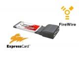 ExpressCard pour portable - 2x FireWire 400