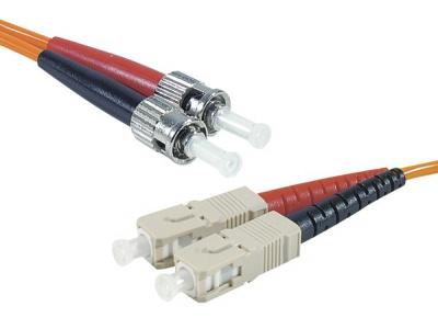 Cordon fibre optique ST/SC 50/125 - 3.00 m