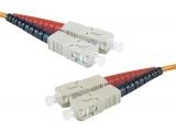 Cordon fibre optique mono-mode SC/SC 9/125 - 1.00m