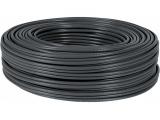 Câble FTP cat 5E - 100m noir blindé