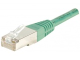 Cordon RJ45 patch FTP CAT 5e Vert -  5,00 m