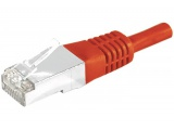 Cordon RJ45 patch SSTP CAT 6 Rouge - 10,00 m