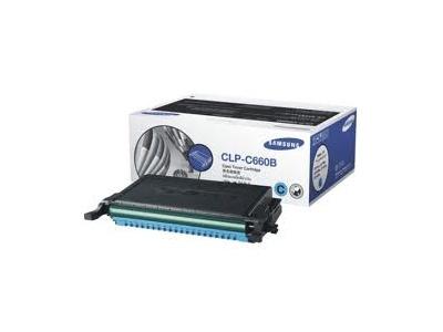 Cartouche d'impression cyan Laserjet cyan CLP-C660B (toner Samsung CLP-C660B/ELS)