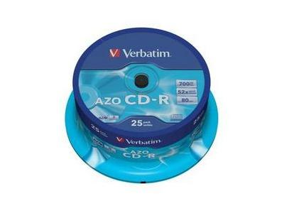 25 CD-R 80 min
