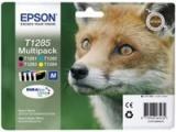 Cartouche d'impression jet d'encre 4 couleurs T1285 (Epson C13T12854010)