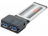 Expresscard 2 ports USB 3.0 5GBPS Chipset NEC