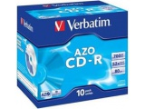 10 CD-R Super AZO Imprimable
