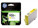 Cartouche d'impression jaune OfficeJet 920XL (HP CD974AE)